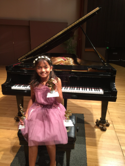 Kaya SMith Piano Competition